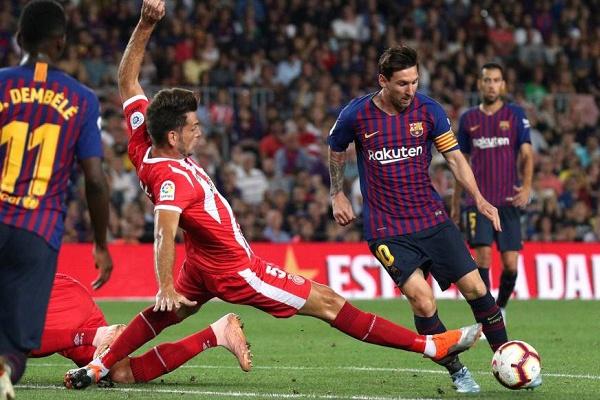 Espanha: Barcelona empata com Girona e deixa-se alcançar pelo Real Madrid
