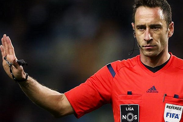 Artur Soares Dias arbitra o Real Madrid-CSKA Moscovo