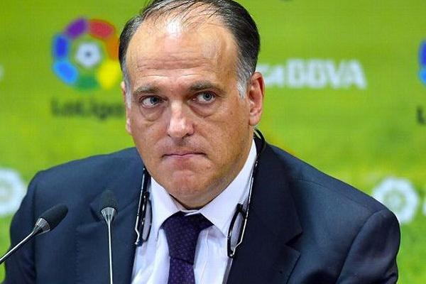 Espanha: Javier Tebas pondera queixar-se à UE pelo 'fair play' financeiro