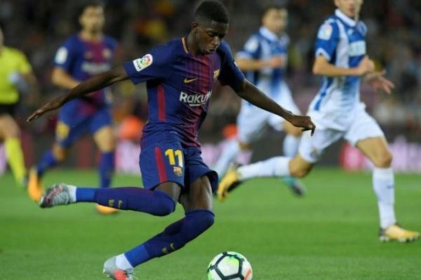 Barcelona: Dembelé volta a lesionar-se e vai parar três ou quatro semanas