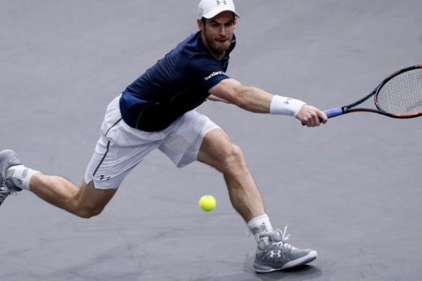 Lesão afasta Andy Murray do torneio de ténis de Cincinnati