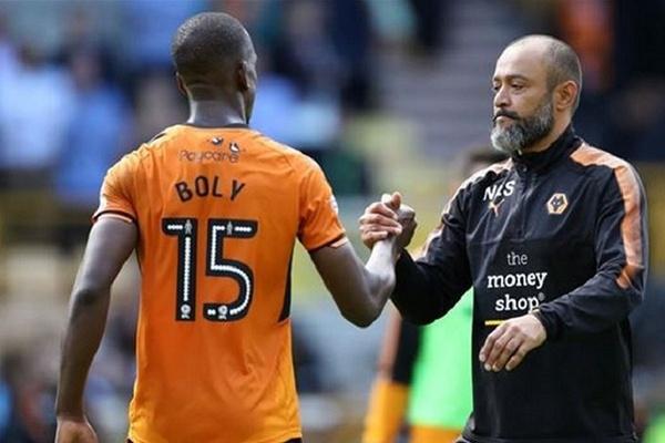 Golo de Boly aos 90+5 dá empate ao Wolverhampton de Nuno Espírito Santo