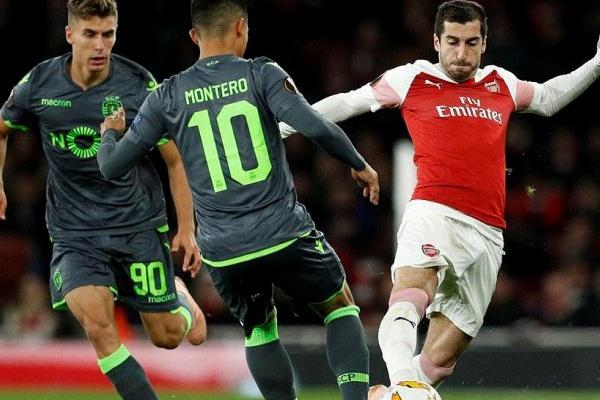 Crónica: Sporting aguenta nulo em Londres e coloca um 'pé' na próxima fase
