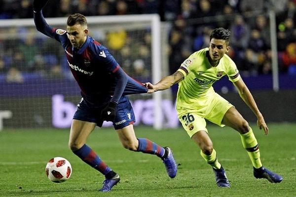 Justiça federativa confirma que o FC Barcelona está nos «quartos» da Taça do Rei