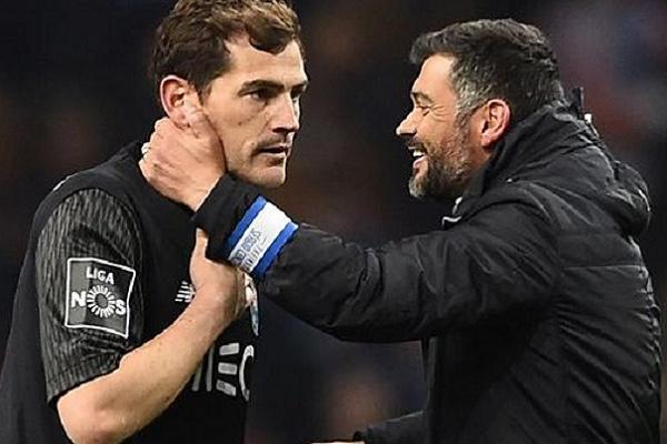 Casillas diz que Sérgio Conceição foi grande responsável pelo título