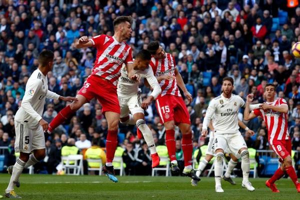 Espanha: Real Madrid perde em casa com Girona e fica a nove pontos do Barcelona