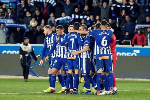 Alavés vence Levante e alcança Getafe no quinto lugar em Espanha