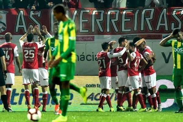 Crónica: Sporting de Braga passa em Tondela com golo solitário de Wilson