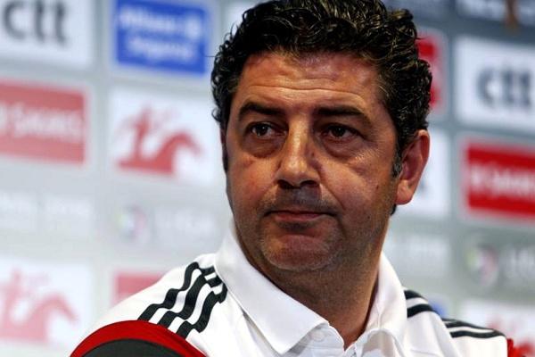 e25e41d3fd Rui Vitória não está preocupado com impasse na contratação de Rafa Silva.