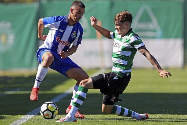 Juniores A S19: FC Porto vence clássico frente ao Sporting