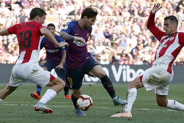 FC Barcelona empata 0-0 em Bilbau e Real Madrid fica a seis pontos