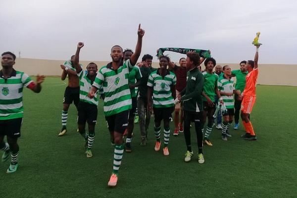 Sporting da Brava é o primeiro campeão regional de futebol em Cabo Verde