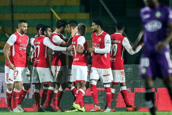 Braga vence no prolongamento em Setúbal e segue na Taça