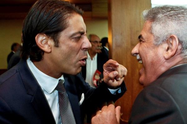 Rui Costa e Luís Gonçalves suspensos pela Liga de clubes após o «clássico»