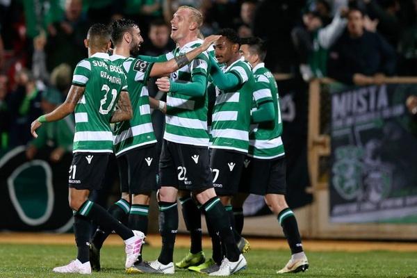 I Liga: Sporting com 10 vence Desp. Aves e reforça terceiro lugar