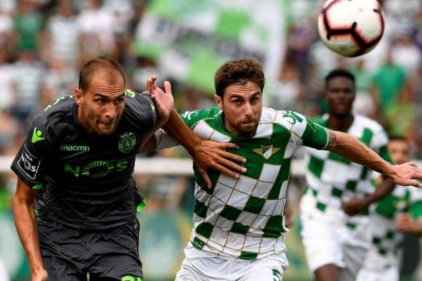 I Liga: Veja as equipas titulares de Sporting e Moreirense para o jogo de hoje