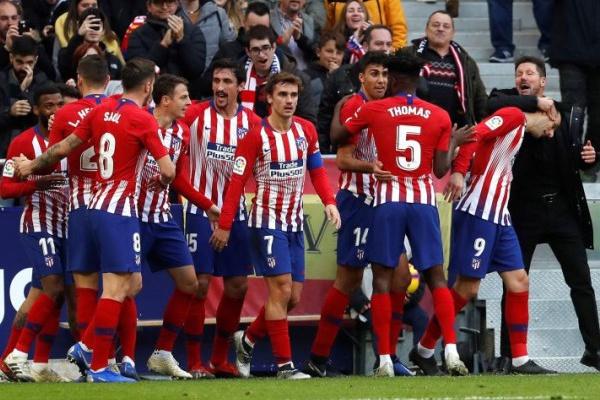 Espanha: Atlético de Madrid vence confortavelmente em Huesca