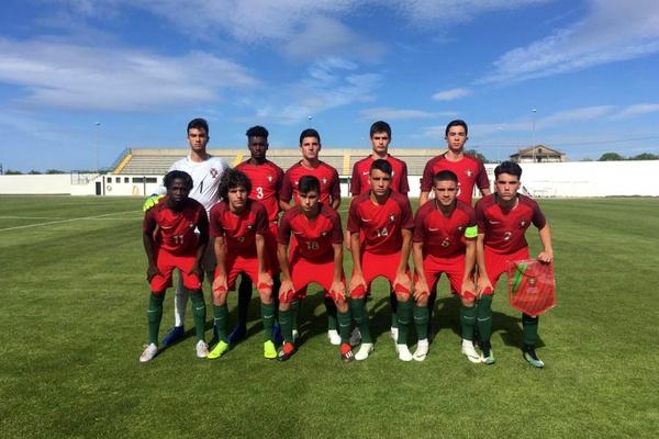 Portugal perde com Bélgica no Torneio de Desenvolvimento da UEFA em sub-16