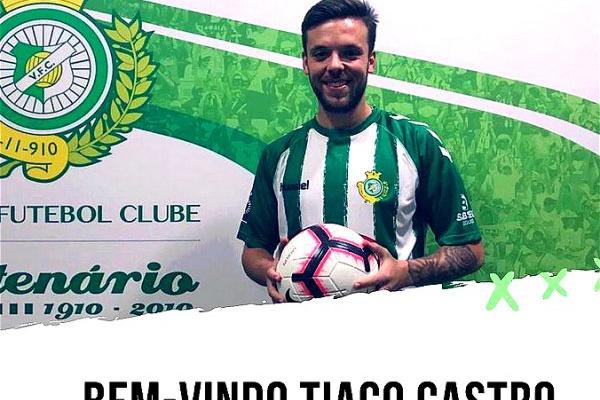 Mercado: Tiago Castro reforça meio-campo do Vitória de Setúbal até 2021