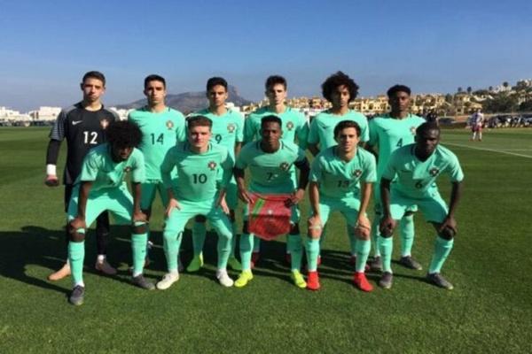 Seleção de futebol de sub-18 vence Eslováquia no Torneio de La Manga
