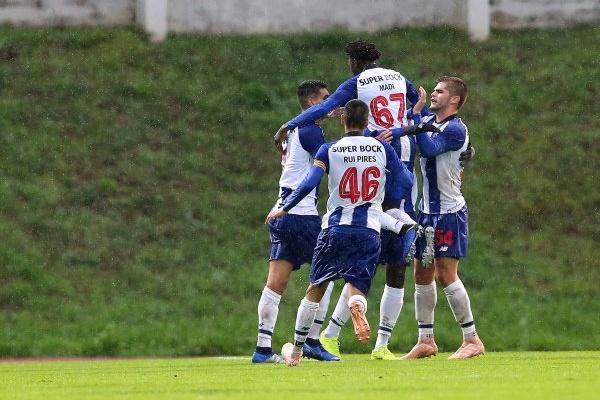 II Liga: FC Porto B bate Braga B pela margem mínima