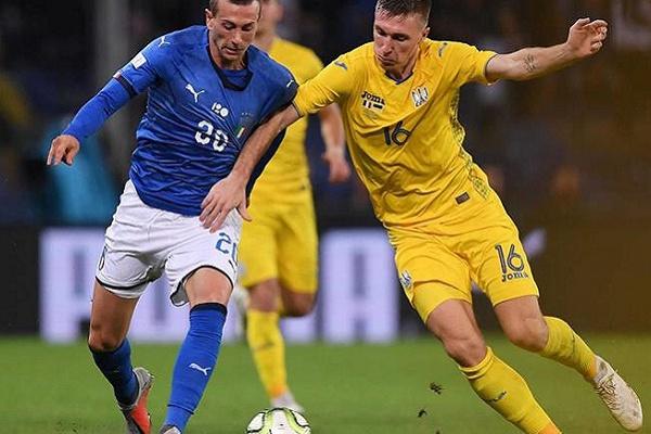 Itália empata com Ucrânia, na estreia de Piccini como internacional italiano