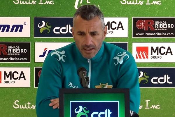 Ivo Vieira diz que o Sporting «tem o favoritismo do seu lado e joga em sua casa»