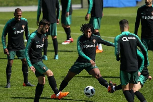 Portugal prossegue preparação para  amigável  com Croácia  fe0dac70e4424