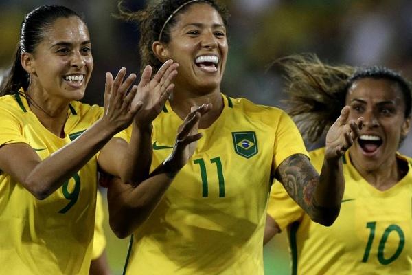 8418aecf49 Rio-2016  Brasil-Suécia e Alemanha-Canadá nas  meias  do futebol ...