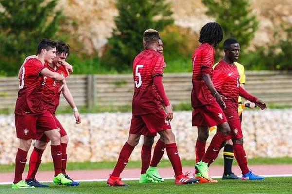 Sub-17 perdem 2-1 com a Holanda no Torneio Internacional do Algarve