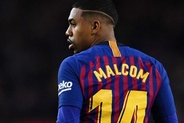 Malcom lesiona-se e desfalca FC Barcelona durante duas semanas
