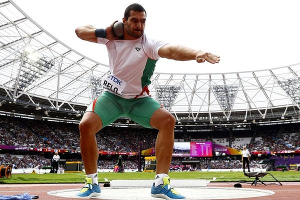 Francisco Belo vence na Turquia com recorde pessoal no lançamento do peso