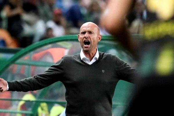 Marcel Keizer: «O momento do jogo acabou por ser o cartão vermelho a Ristovski»