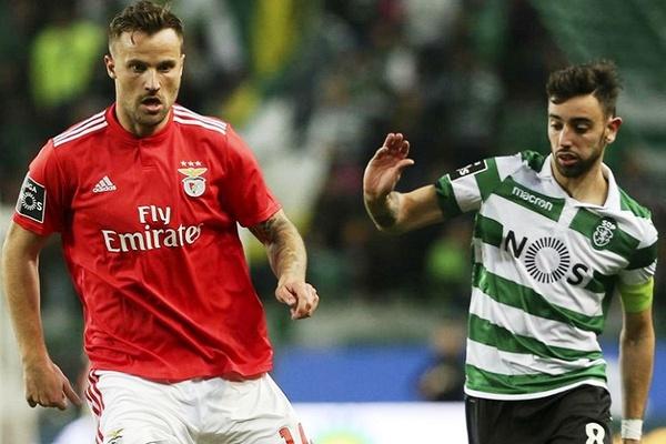 Seferovic e Bruno Fernandes em luta indivual pelos golos nos jogos do título