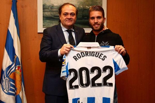 Kévin Rodrigues renova com a Real Sociedad até 2022