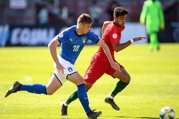 Portugal perde com Itália nos quartos de final e é afastado do Euro sub-17
