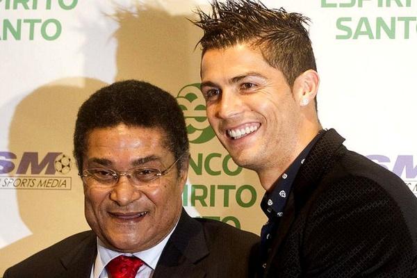 Fernando Santos coloca Eusébio e Ronaldo no melhor ataque de Portugal