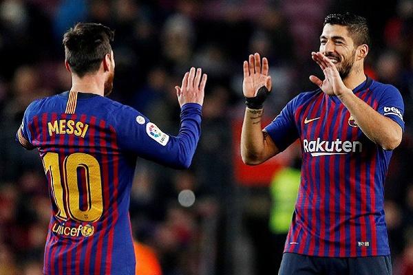 Messi entra para resolver problemas do Barcelona com o Leganés