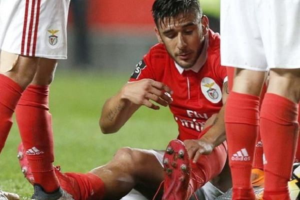 LE: Salvio regressa aos convocados do Benfica após dois meses de ausência