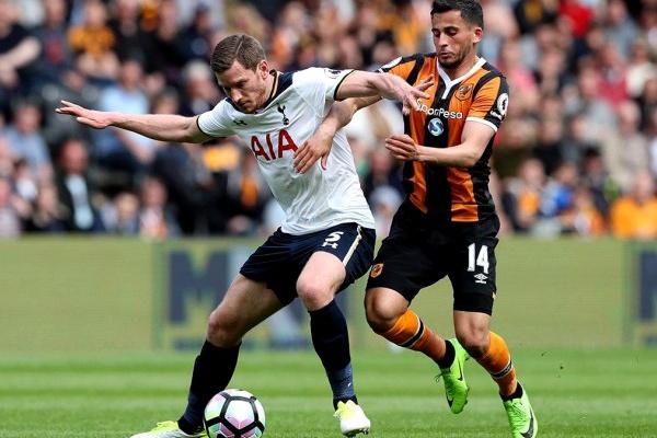 Jan Vertonghen desfalca Tottenham até dezembro