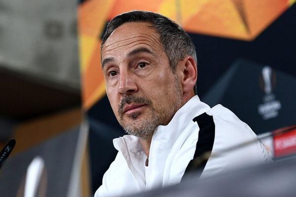 LE: Adi Hütter diz que o Benfica é «uma das melhores equipas da Europa»