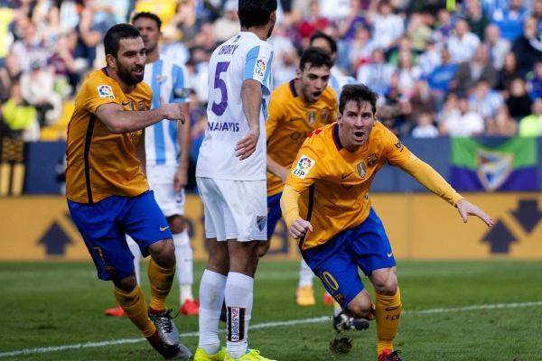Espanha: Barcelona vence em Málaga e assume liderança provisória