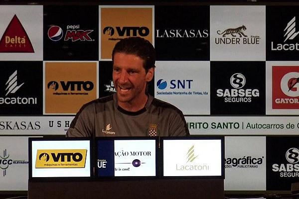 Boavista: Jorge Simão diz que equipa «está sedenta de pontos»