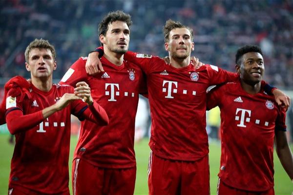 Alemanha  Bayern recupera duas vezes de desvantagem para ganhar em Augsburgo ee6cdd170f3db