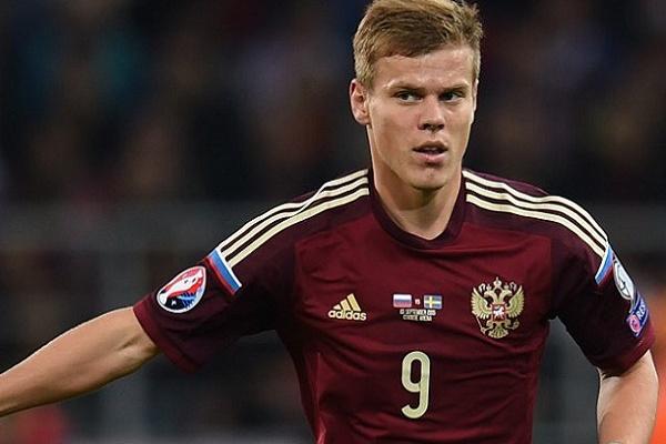 Polícia russa ameaça deter futebolistas Kokorin e Mamaev