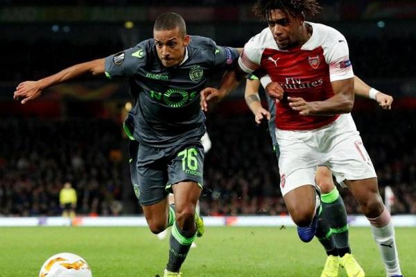 LE: Sporting empata com Arsenal e vê apuramento mais próximo