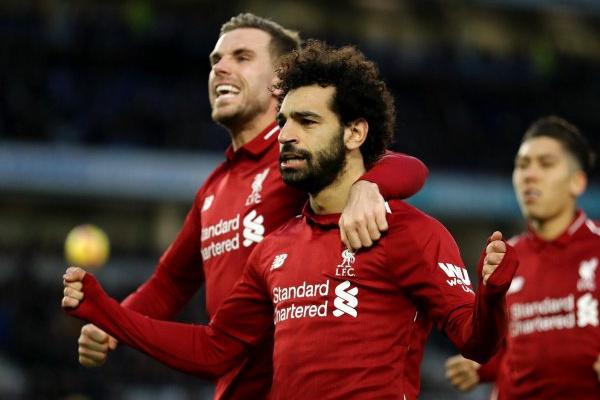 Inglaterra: Salah dá a vitória ao Liverpool em casa do Brigthon