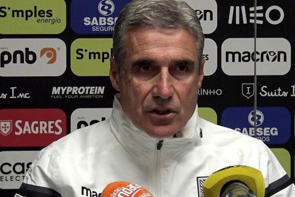 Luís Castro quer vencer o Moreirense para atingir o quinto lugar