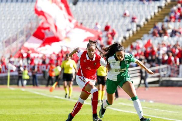 Sp. Braga e Sporting defrontam-se nos oitavos de final da Taça feminina