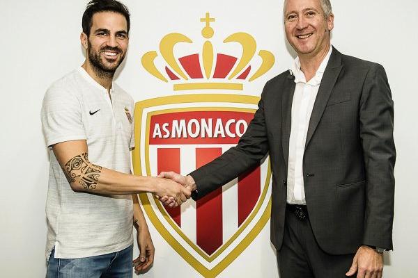Mercado: OFICIAL - Mónaco anuncia Fabregas como reforço